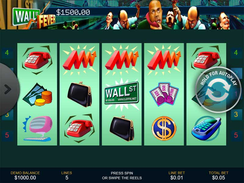 Wall Street Fever Slots Demo Screenshot