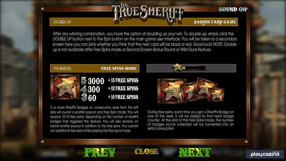 Free Spins & Double Up