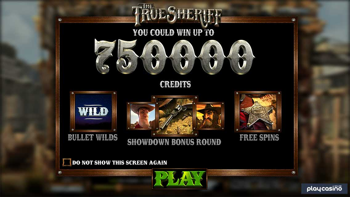 The True Sheriff Game Features