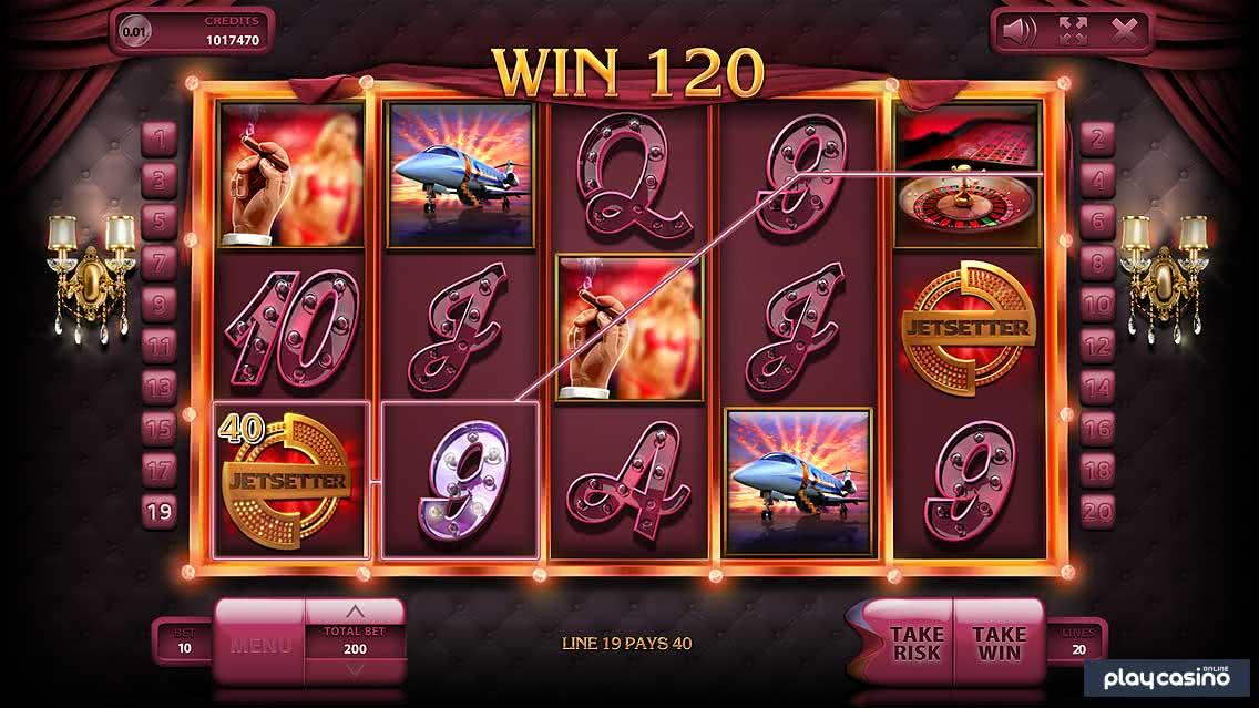 Jetsetter Slot Game Screenshot