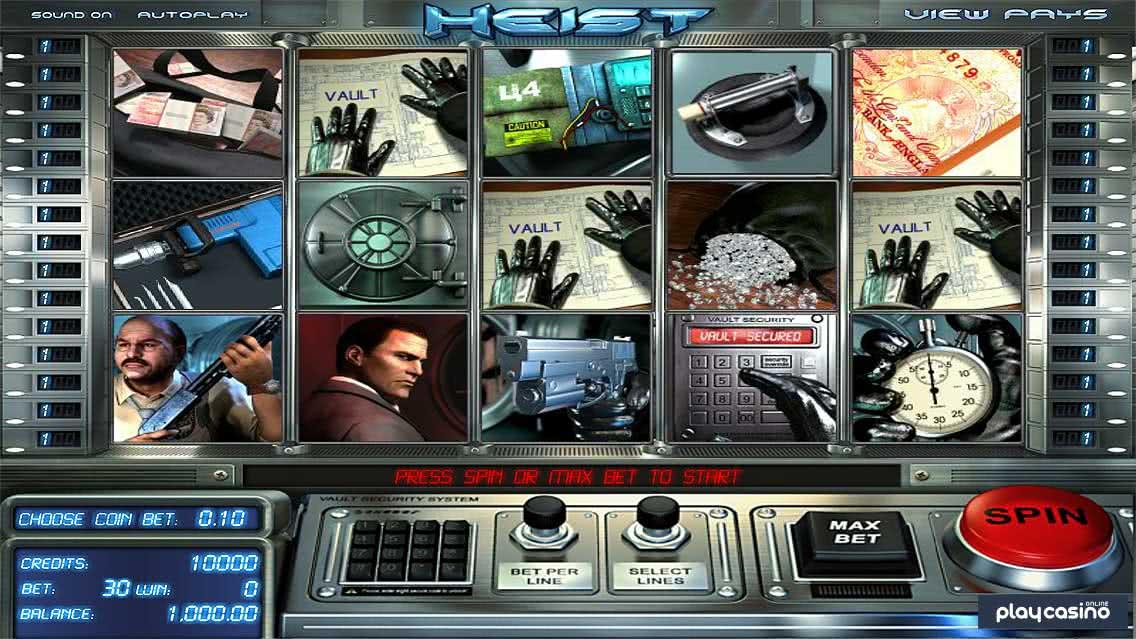 Heist Slot Screenshot