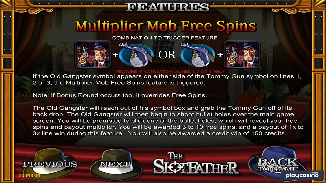 The Slotfather Free Spins
