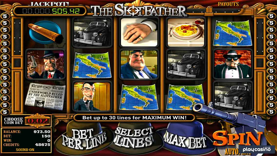 The Slotfather Slots Game Screenshot