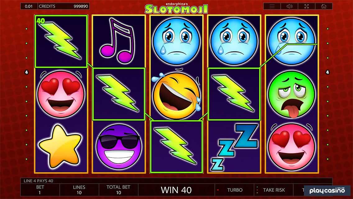 Slotomoji Slot Game Screenshot