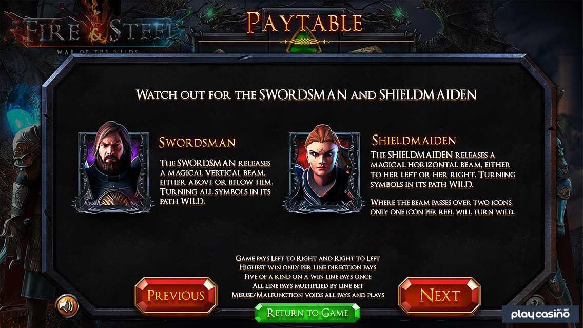 Magical Wilds Swordsman and Shieldmaiden