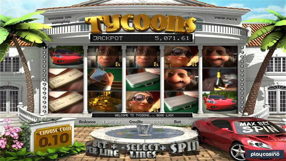 Tycoons Slot Screenshot