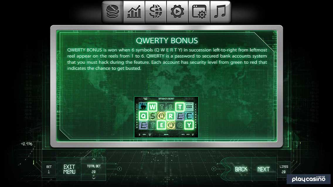 QWERTY Bonus Feature