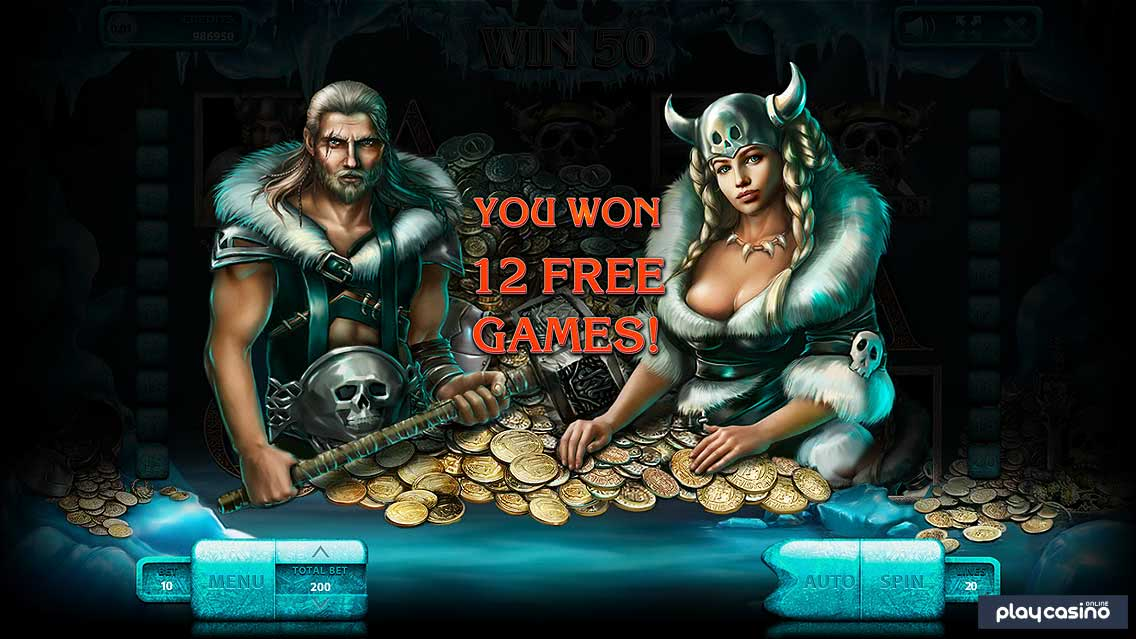 The Vikings 12 Free Spins