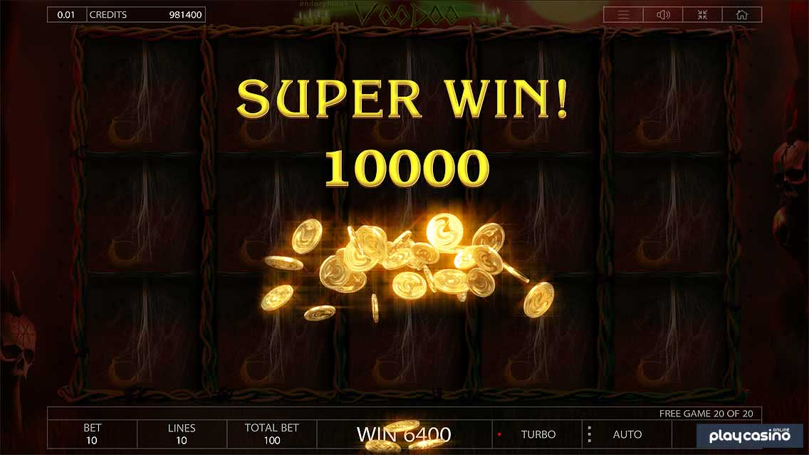 Voodoo Super Win
