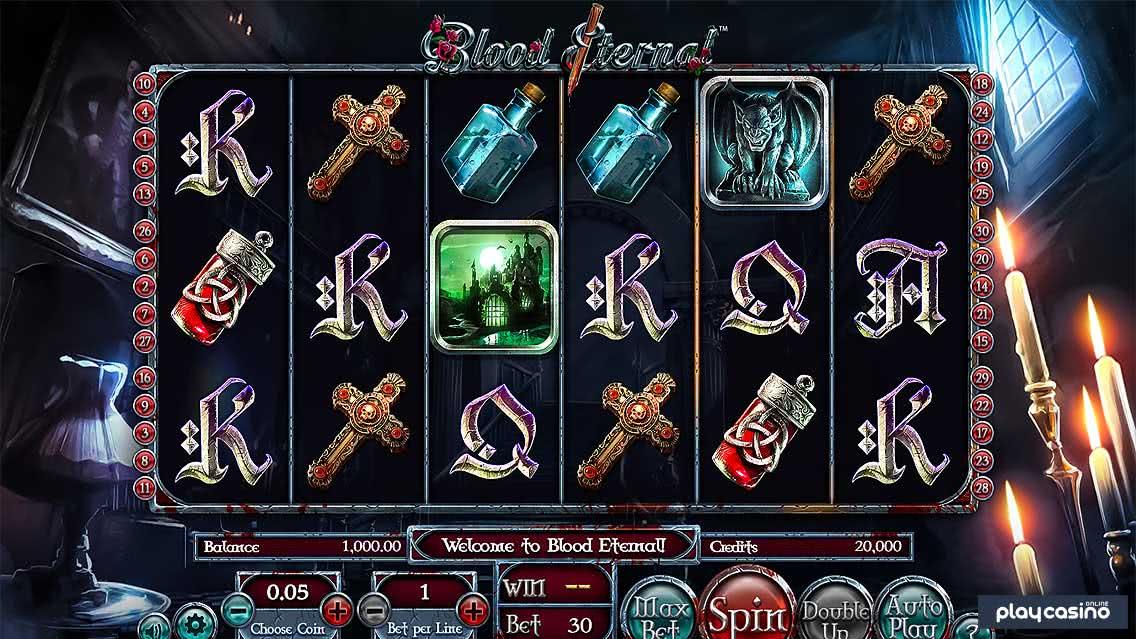 Blood Eternal Slot Screenshot
