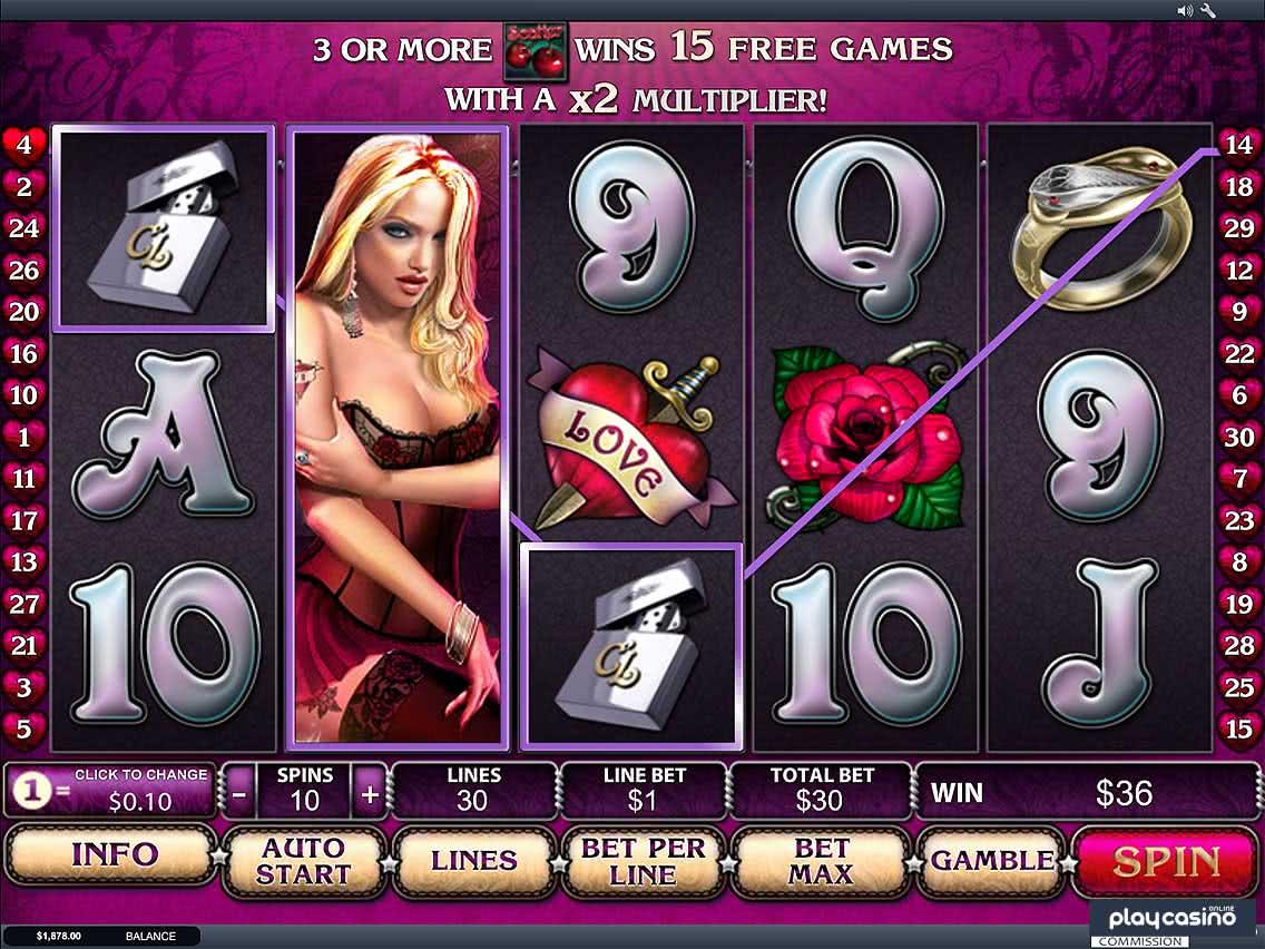 Cherry Love Slots Game Screenshot