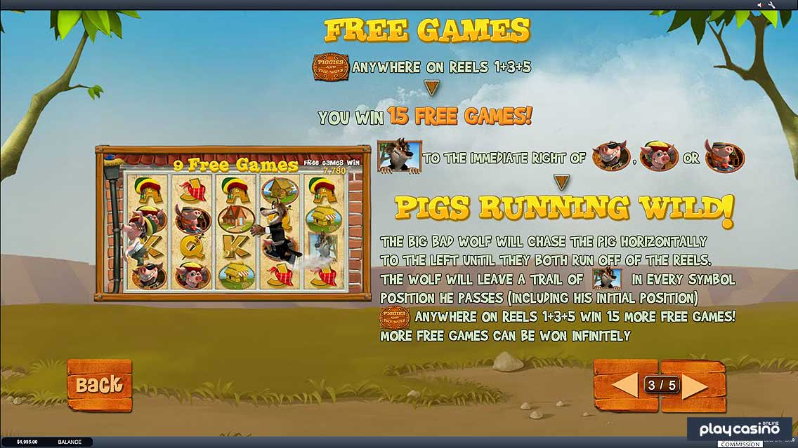 Play Piggies And The Wolf Slots Online at Casino.com Canada