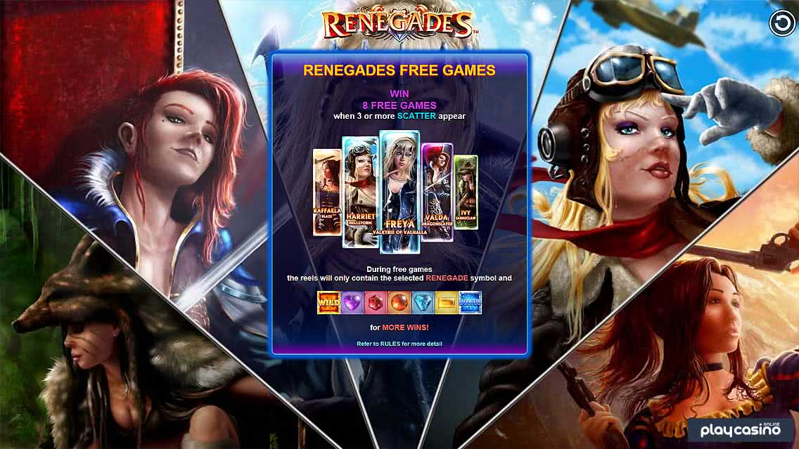 Renegades Slot Free Spins