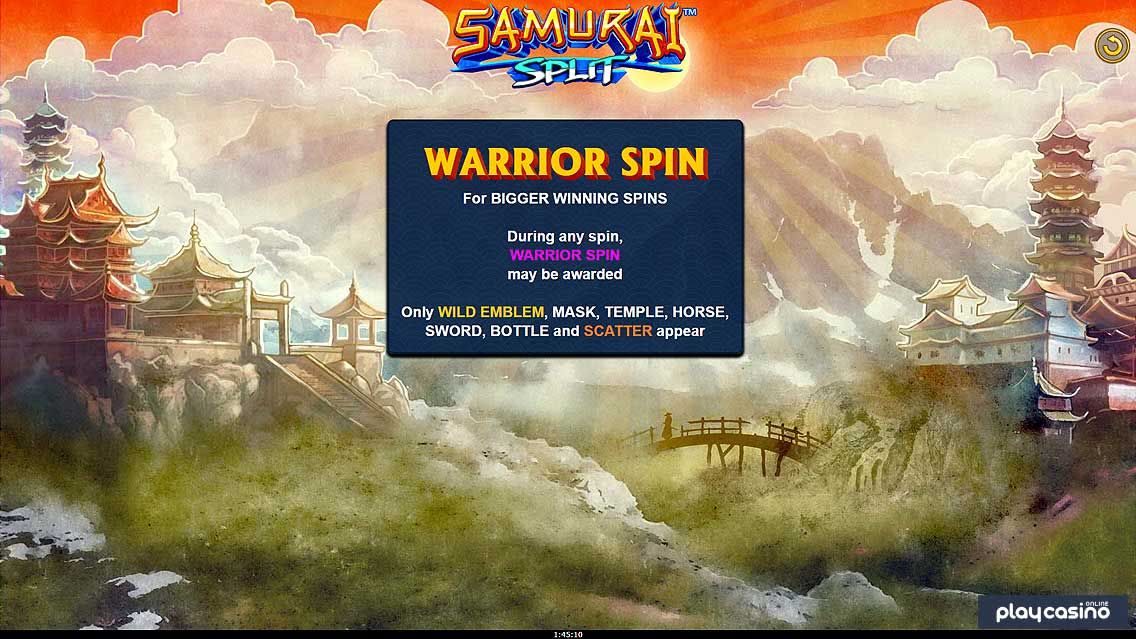 Warrior Spin Feature