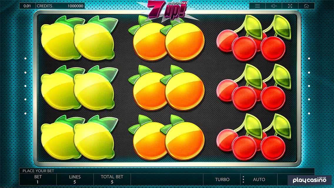 7UP! Slot Game Screenshot