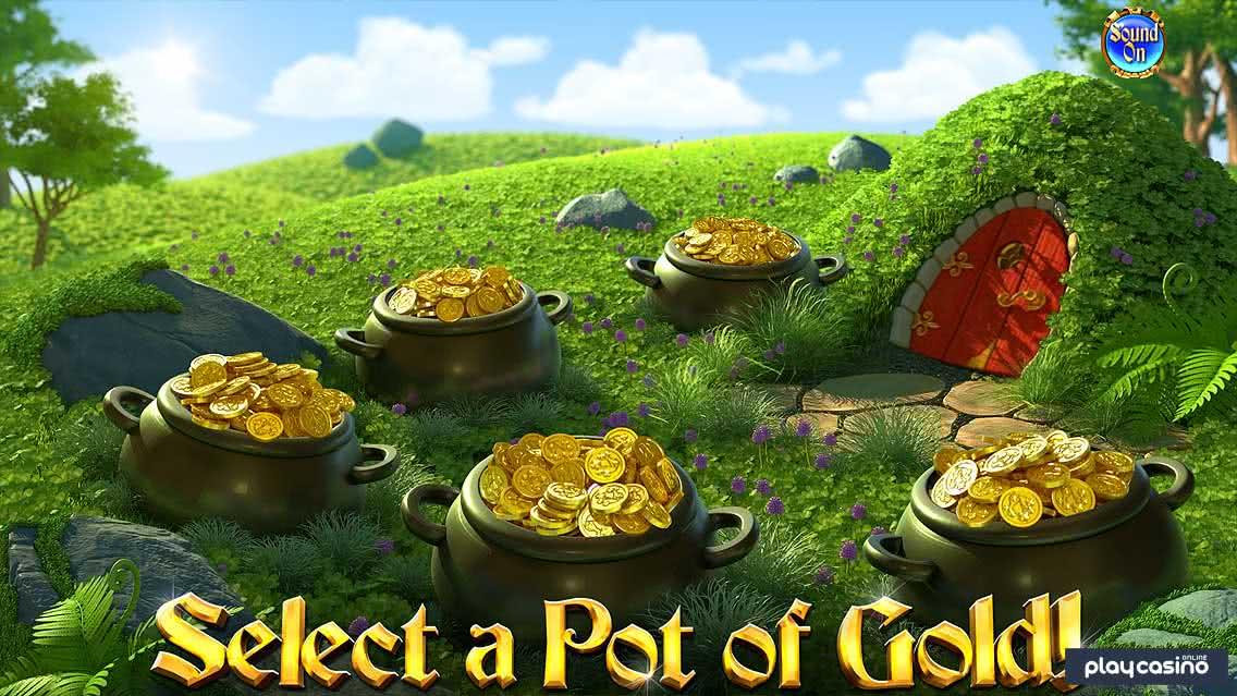 Golden Bonus: Select a Pot of Gold