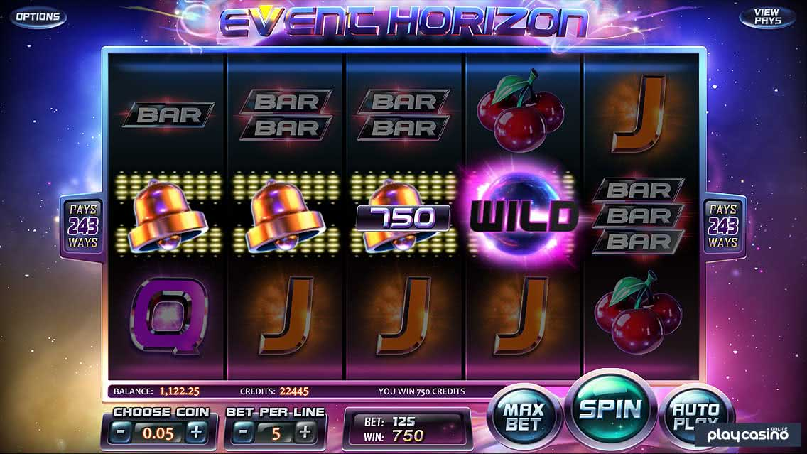 The Wild Symbol in the Event Horizon Slot Game
