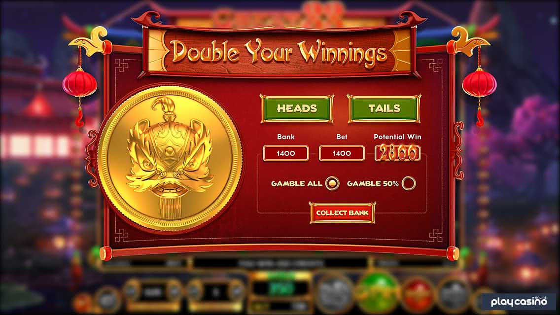 Great 88 - Double Your Winnings Feature