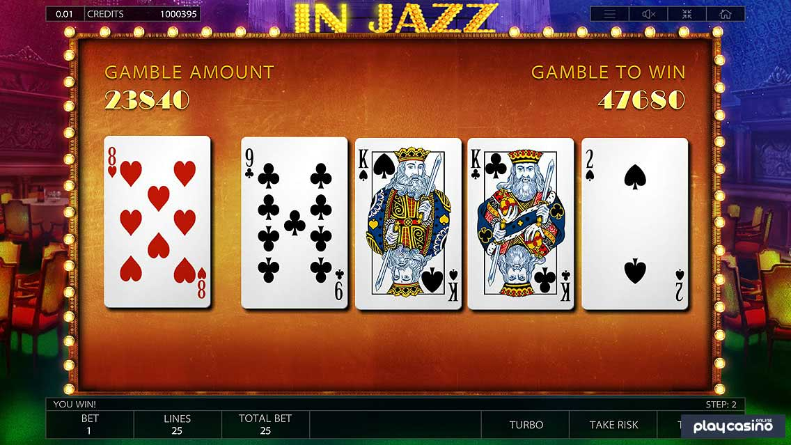 In Jazz Gamble to Win Functionality