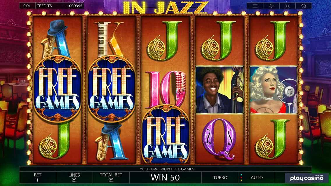 In Jazz Slot - Free Games