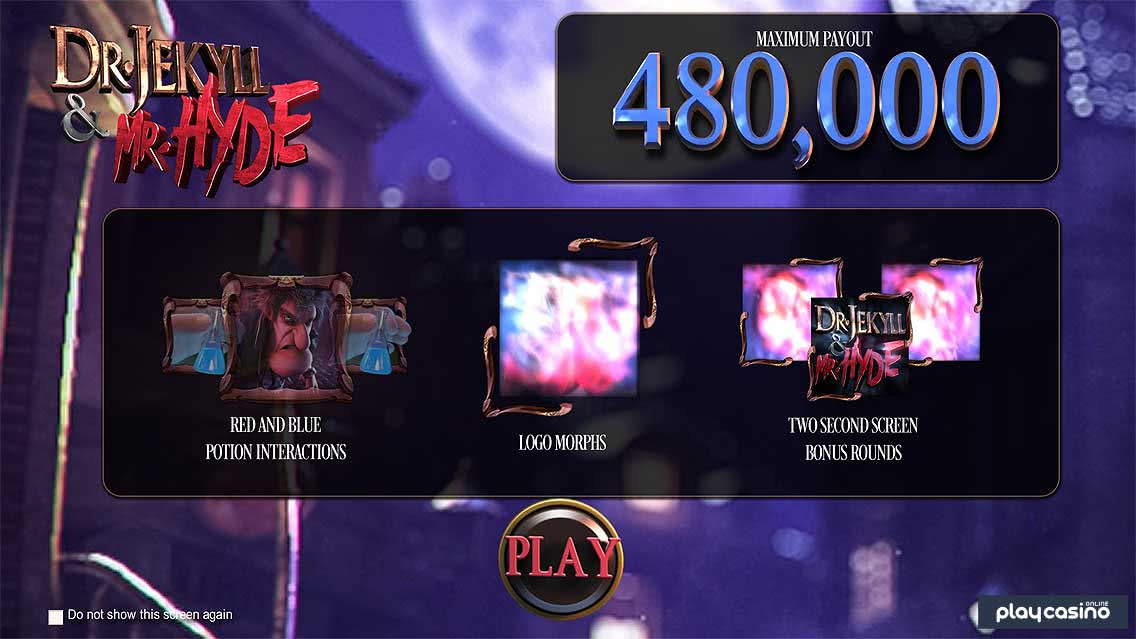 Jekyll and Hyde Slot Features
