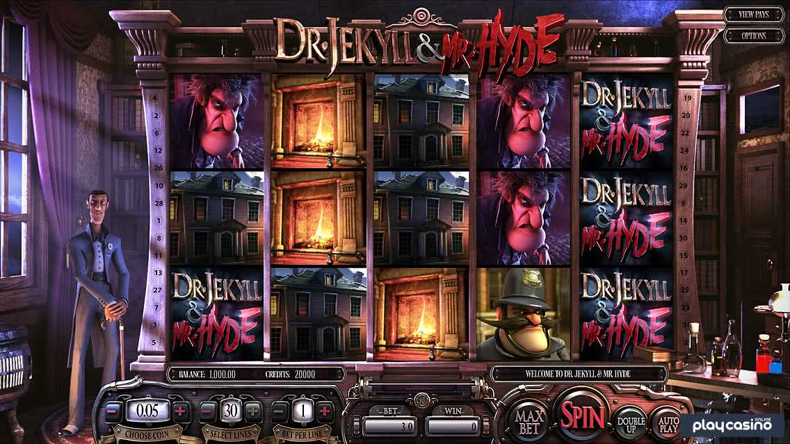 Dr. Jekyll and Mr. Hyde Slot Game Screenshot