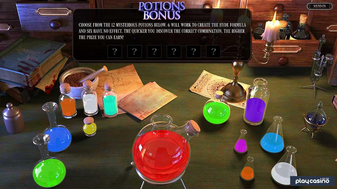 Potions Bonus Screenshot