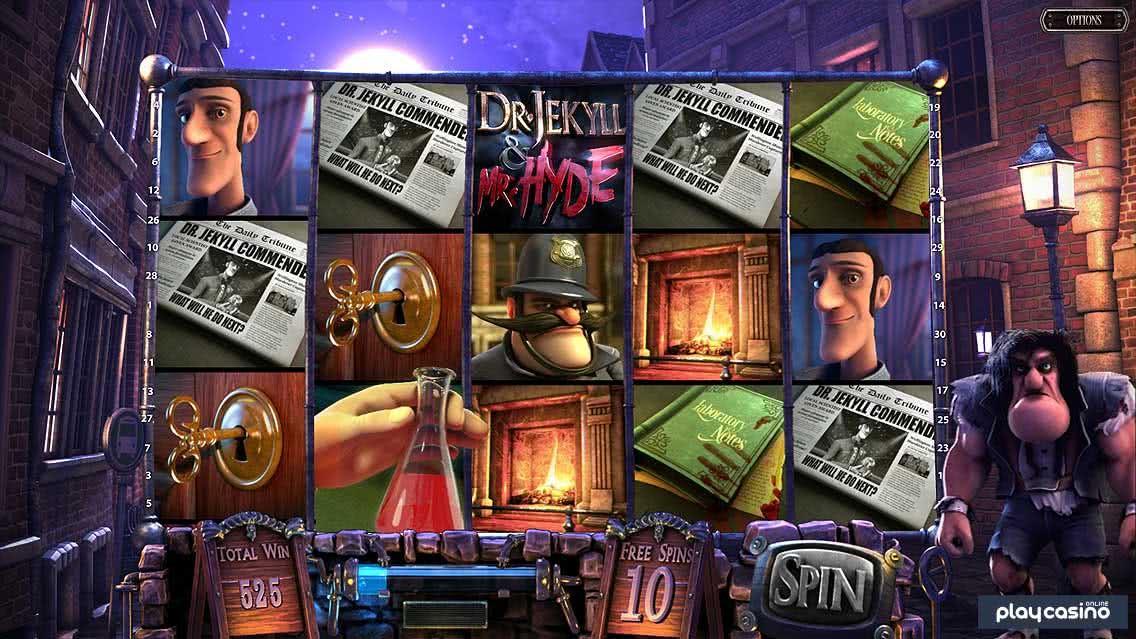Jekyll & Hyde Red Lotion Free Spins