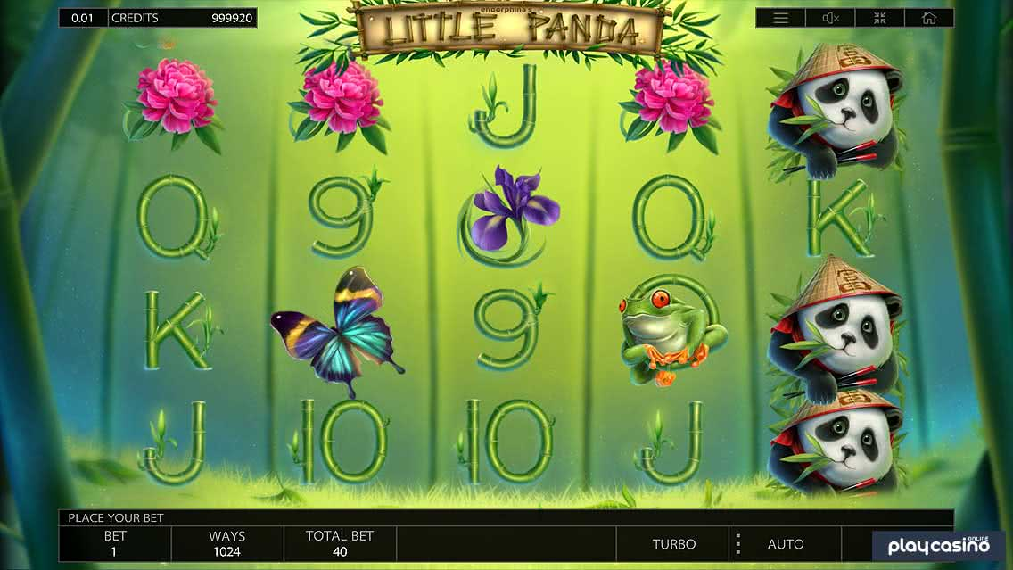 Little Panda Slot Game Screenshot