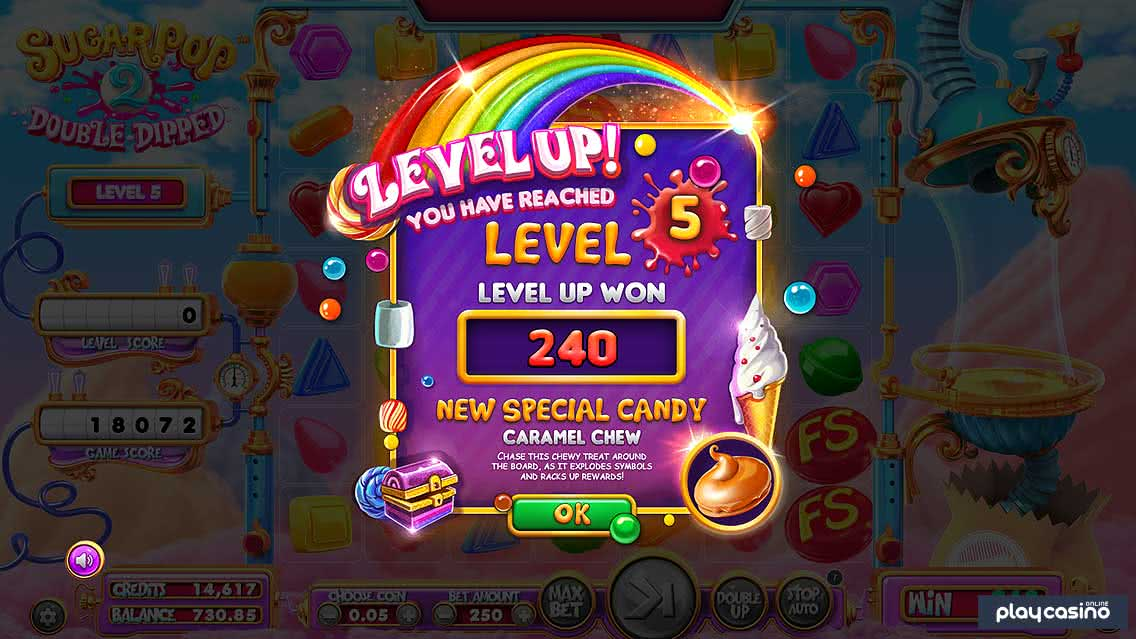 Screenshot of Sugar Pop 2 Level 5