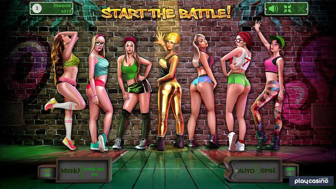 Twerk Free Spins Battle Feature