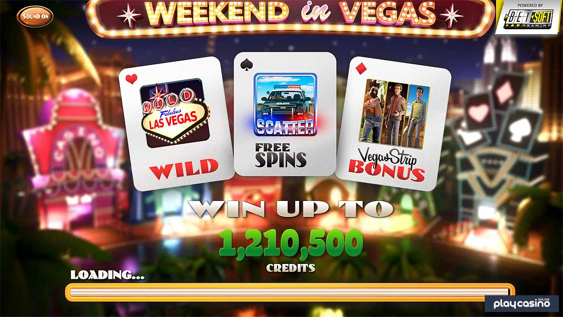Weekend in Vegas Slot by BetSoft