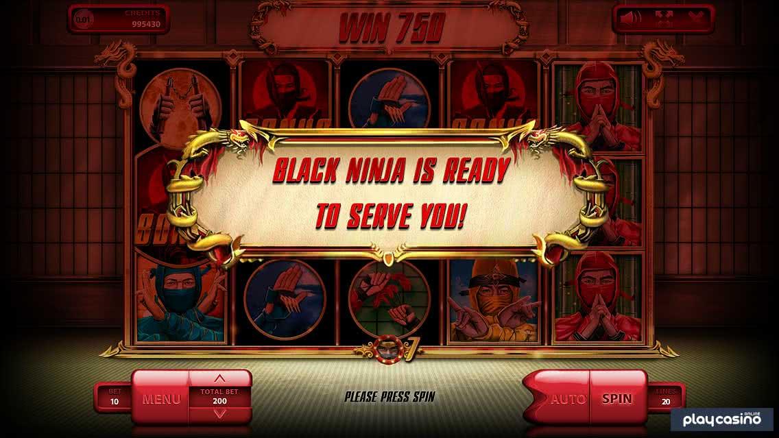 Black Ninja Free Spins