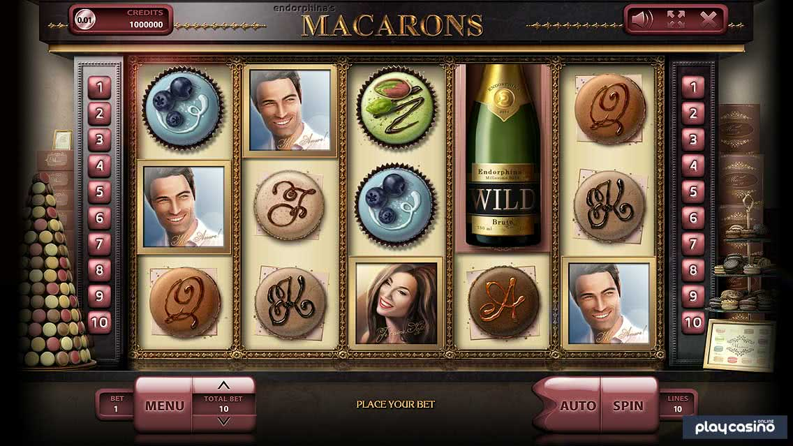 Macarons Slot In Game Screenshot