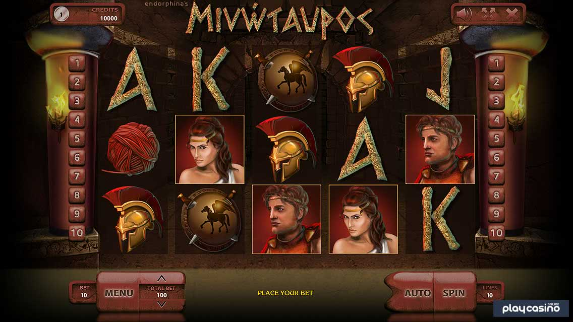 Minotaurus Slot In Game Screenshot