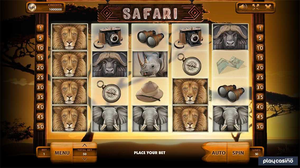 Safari In Game Slot Screenshot