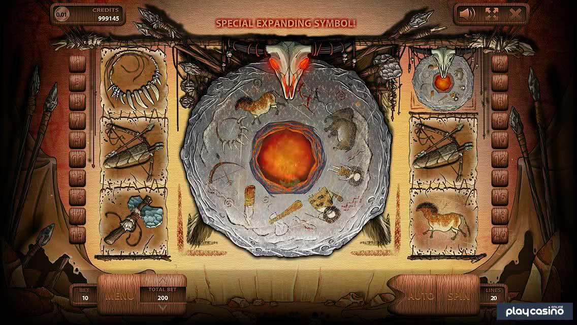 Stone Age - Scattered Wild Wheel Symbols