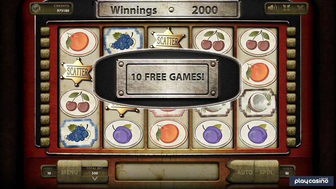 Wild Fruits Slot 10 Free Games