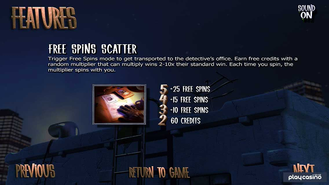 After Night Falls Free Spins Mode / Scatter