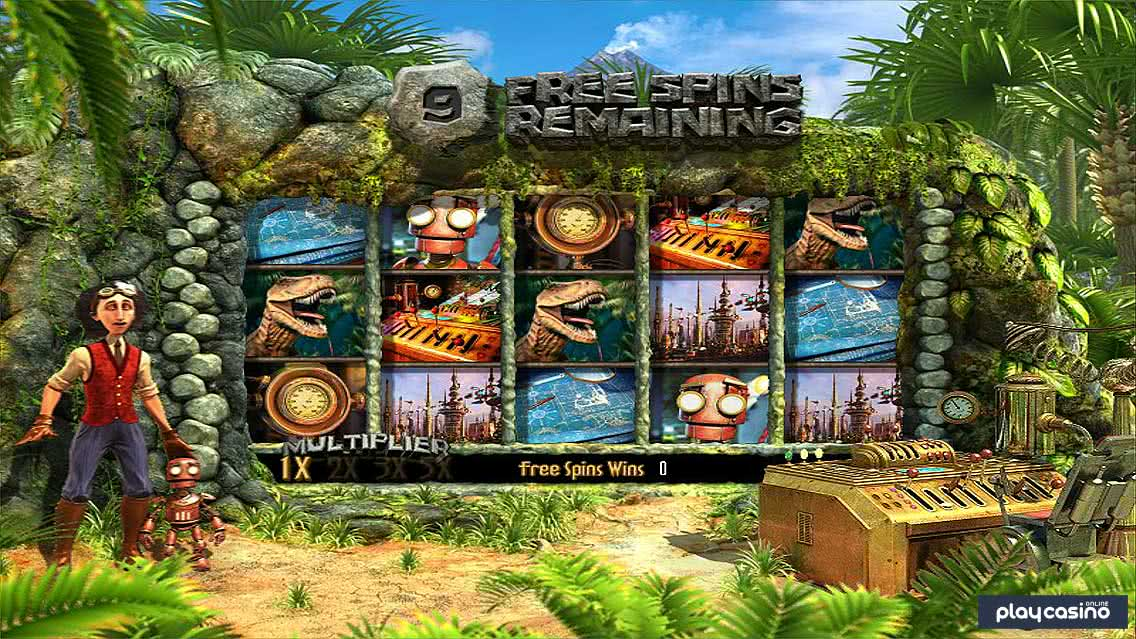 The Curious Machine Slot - Free Spins Mode