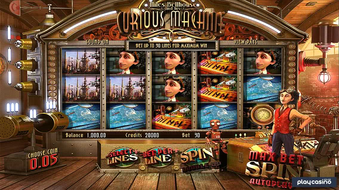 Curious Machine Slot In Game Screenshot