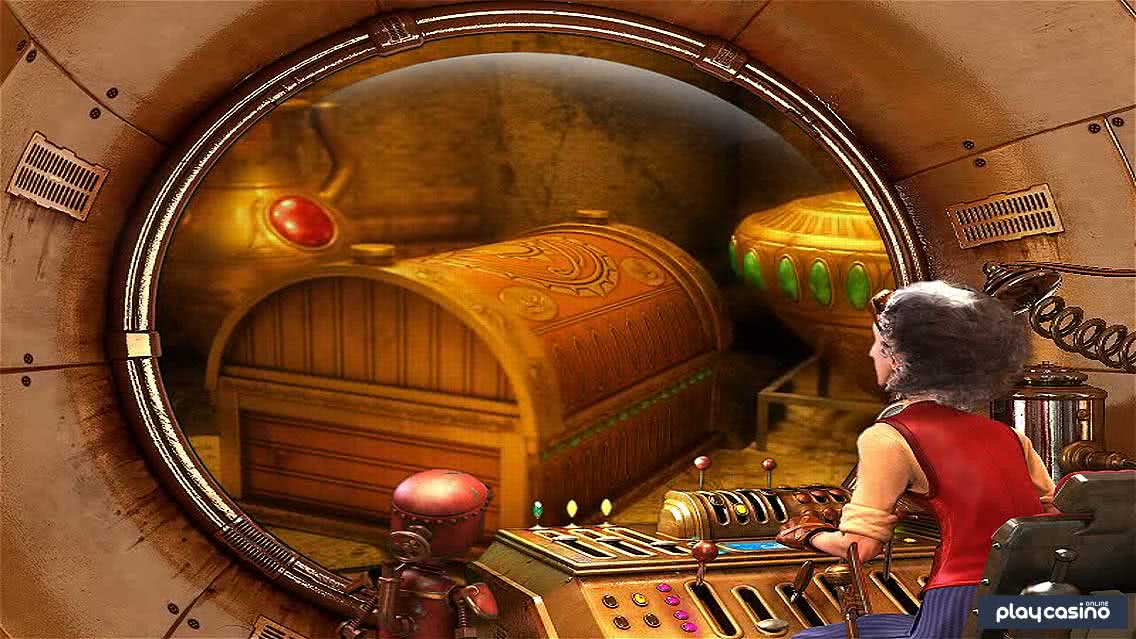 Curious Machine Slot - Time Travel Feature