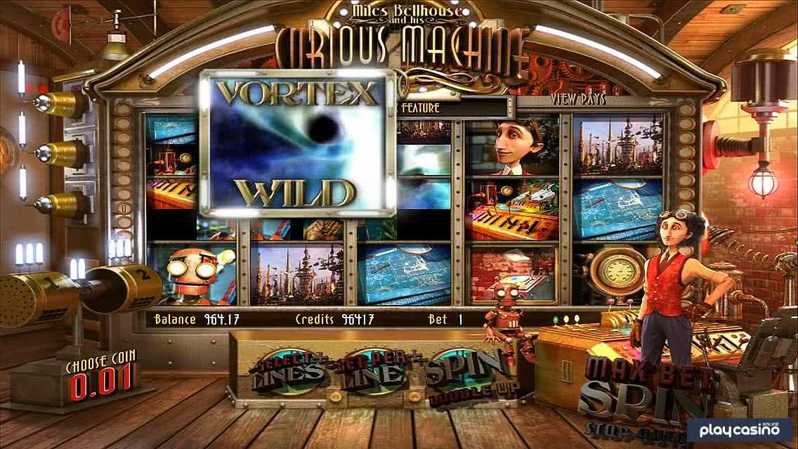 The Curious Machine Vortex Wild