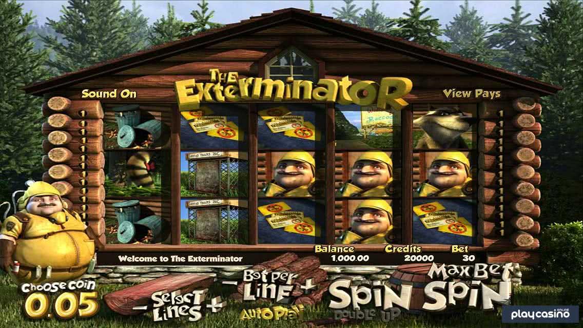 The Exterminator Screenshot of the Slot Game