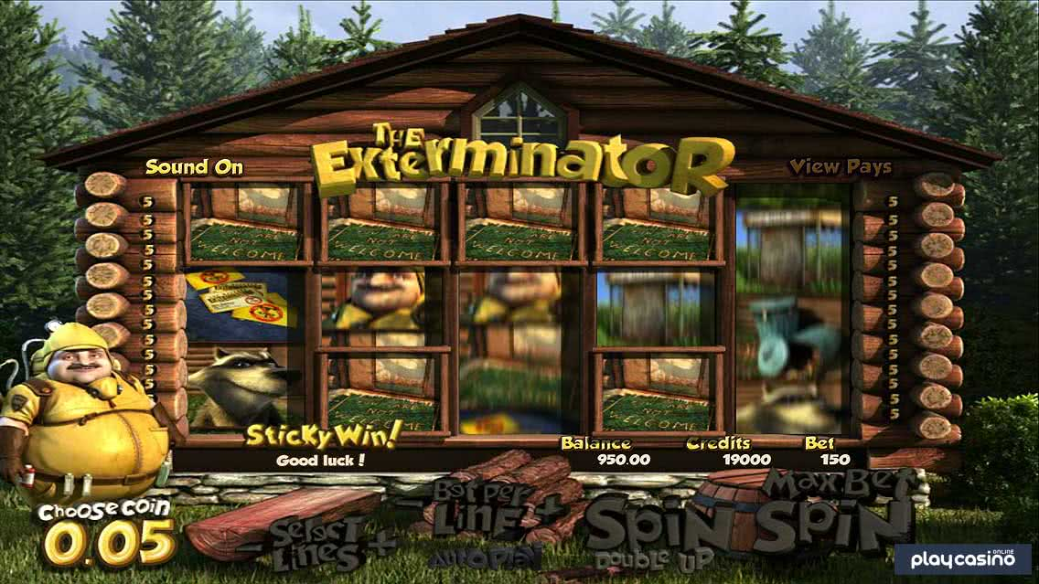 Exterminator Sticky Wins Feature