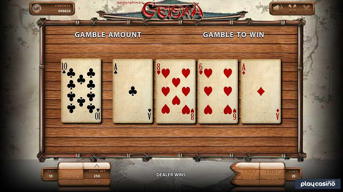 Geisha Slot - Gamble/Risk Game
