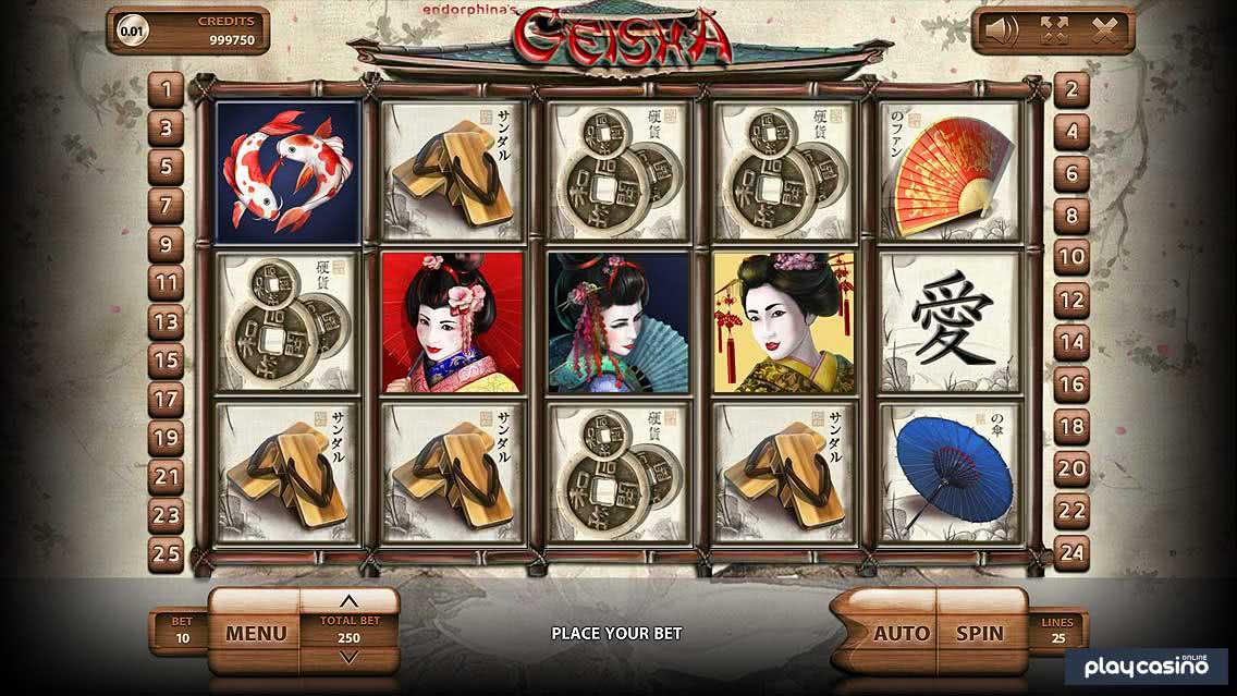 Geisha Slot Screenshot