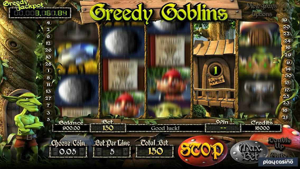Greedy Goblins Sticky Wild Re-spins