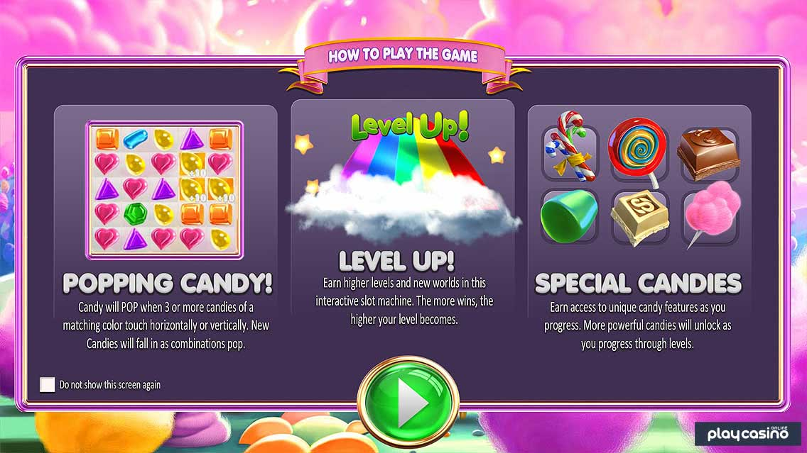 Sugar Pop - Game Features