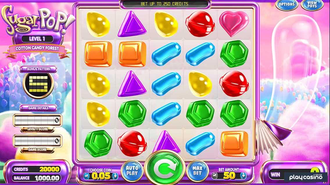 Screenshot of the Sugar Pop Slot